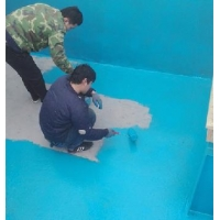 大型戶外游樂場天藍色防水涂裝漆,養魚池白色防水裝飾漆價格