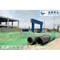 HDPE缠绕结构壁B型管(克拉管)河南市政雨污工程施工案例