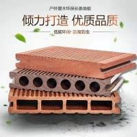 泸州木塑地板方孔防潮防虫免刷漆