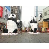 玻璃钢熊猫雕塑
