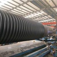 宜春HDPE纏繞增強結構壁管厚度 江西運通管業