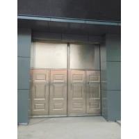 平开不锈钢大门、不锈钢夹芯板大门、不锈钢平移门03J611-