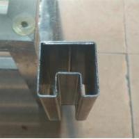 镀锌带凹槽管、凹槽管加工、凹槽管价格