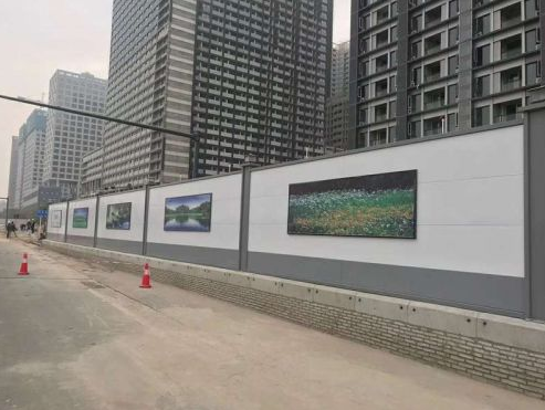 广州钢结构围挡生产、白云钢围挡直销