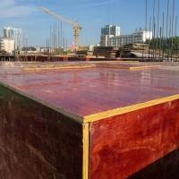 安徽建筑紅模板 層層過膠 耐腐蝕耐磨 周轉次數多