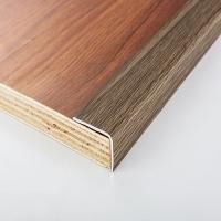 峰帆2018新品铝合金盛典胡桃木色地板压条,L型地板收口条
