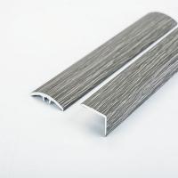 峰帆2018新品经典深灰色铝合金地板万能扣,L型直角压条