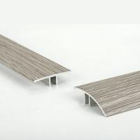 高档装饰线条铝合金材质4CM冷色系列光面地板万能扣