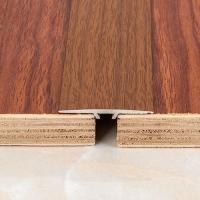 佛山地板辅料高档地板接缝压条 铝合金木地板平扣