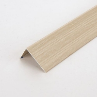 峰帆装饰线条厂木纹系列铝合金地板L型墙角封边条