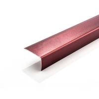 南海迪利直销铝合金地板压条磨砂系列7字型直角封口条