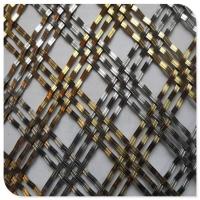 酒吧/售楼部/办公大厅金属编织网/防古铜做旧钢丝网