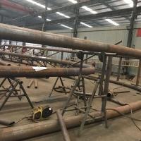成都长兴网架-管桁架焊接