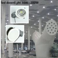 新款150W筒灯 鳍片铝150W筒灯 LED筒灯