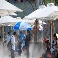 房地产商业中心广场景观人造雾降温造景主机