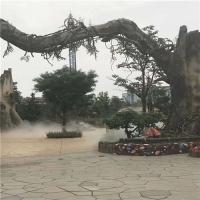 公园喷雾降温系统/景观人造雾工程/雾化降温设备