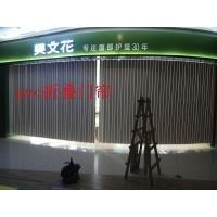 宁波PVC透明折叠门、商铺门、塑料阳台厕所推拉门