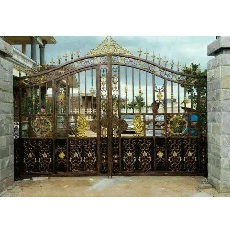 唐山铁艺大门护栏围墙