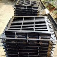河北供应铸铁双箅 雨水口重型雨水篦子 水沟盖板双箅