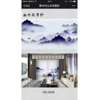 新中式窗纱
