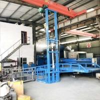 湖北省升降平台导轨液压式升降机液压升降机厂上门安装