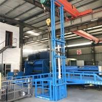 吉林省上下货物液压升降机户外货梯升降货梯液压升降机厂送货上门