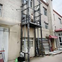 山西省厂房货梯导轨货梯液压升降机厂上门安装