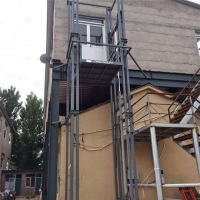安徽省厂房升降机壁挂式升降货梯济南厂家上门安装