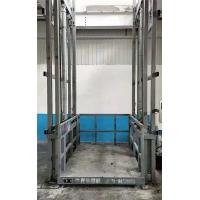 陕西省链条式升降机液压货梯加工厂免费上门测量现场