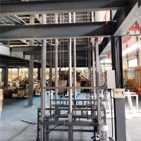 北京市上下货物液压升降机户外货梯升降货梯液压升降机厂报价