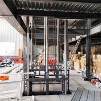 青海省升降平台导轨液压式升降机液压升降机厂送货上门