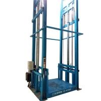 安徽省工厂仓库液压货梯轨道式升降平台液压升降机厂上门安装