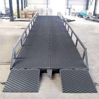 福建省大吨位登车桥集装箱卸货平台液压升降机厂上门安装