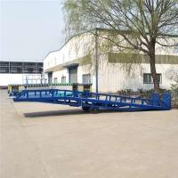 吉林省可移动集装箱装卸登车桥济南厂家上门安装