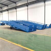 江西省移动登车桥叉车装卸平台济南厂家免费上门测量现场