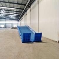 西藏液压卸货平台移动式装卸过桥定制公司免费上门测量现场