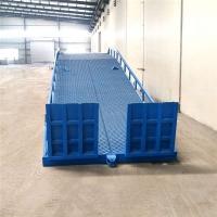 陕西省叉车过桥装卸平台调节板定制公司免费上门测量现场