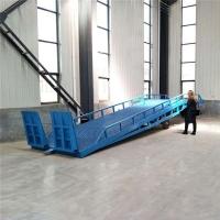 新疆移动登车桥叉车装卸平台生产厂家送货上门