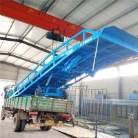 海南省卸货平台手动液压登车桥定制公司上门安装