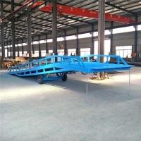 福建省移动式登车桥集装箱装卸货平台加工厂免费上门测量现场