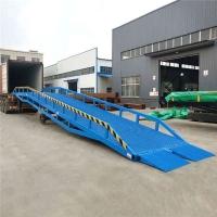 上海市移动式登车桥集装箱装卸货平台液压升降机厂量身定制