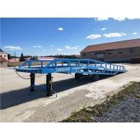 福建省液压卸货平台移动式装卸过桥液压升降机厂上门安装