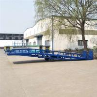 陕西省货柜装卸平台可移动集装箱装卸登车桥定制公司量身定制