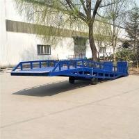 河北省变幅式登车桥大吨位登车桥加工厂免费上门测量现场