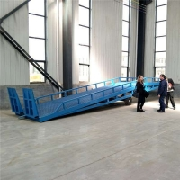 海南省机械式登车桥移动装车平台济南厂家送货上门