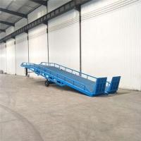 陕西省移动式登车桥集装箱装卸货平台定制公司上门安装