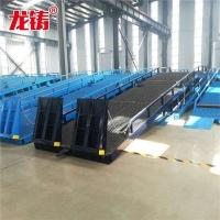 江西省液压登车桥移动式装卸过桥济南厂家免费上门测量现场