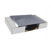 1.2mm鋁合金蓋板型外墻變形縫保溫蓋板