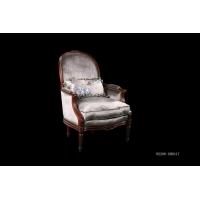 星茂家具 实木雕刻单人沙发 W2206-XM0317