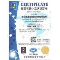 丽迪亚质量管理体系认证证书